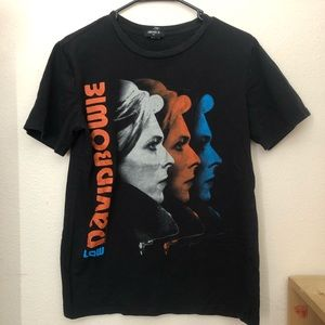 David Bowie Forever 21 Graphic Tee